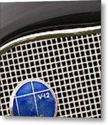 1935 Lincoln K-541 Lebaron Coupe Emblem Metal Print