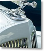 1935 Packard Sedan Hood Ornament Metal Print