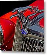 1936 Ford Model 48 Emblem Metal Print