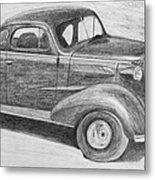 1937 Chevy Metal Print