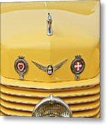 1937 Cord 812 Sc Convertible Phaeton Sedan Grille Emblems Metal Print