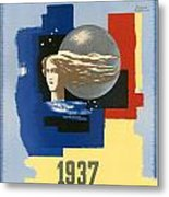 1937 Paris Exposition Metal Print