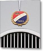 1937 Talbot-lago Emblem Metal Print