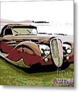 1938 Delahaye Cabriolet Metal Print