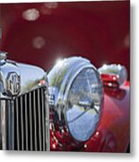 1938 Mg Ta Hood Ornament Metal Print