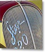 1938 Steyr 220 Glaser Roadster Grille Emblem Metal Print