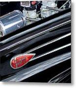 1939 Lincoln Zephyr Engine Metal Print