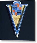 1940 Cadillac Emblem Metal Print