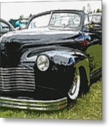 1940 Chevy Convertable Metal Print