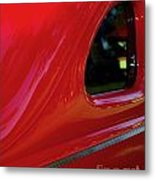 1940 Ford Coupe Side Window Metal Print
