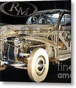 1940 Pontiac Transparent Metal Print