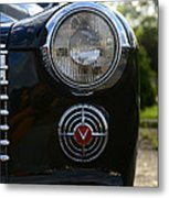1941 Cadillac Headlight Metal Print