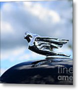1941 Cadillac Hood Ornament - The Goddess Metal Print