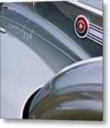1941 Packard 1907 Custom Eight One-eighty Lebaron Sport Brougham Side Emblems Metal Print
