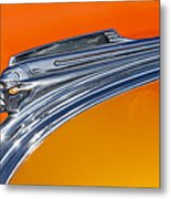 1941 Pontiac Chief Hood Ornament Metal Print