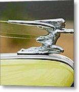 1942 Packard Hood Ornament Metal Print