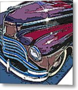 1946 Chevrolet Front Study Metal Print by Samuel Sheats