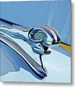 1946 Dodge Ram Hood Ornament Metal Print