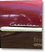 1947 Cadillac . 5d16182 Metal Print by Wingsdomain Art and Photography