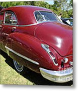 1947 Cadillac . 5d16184 Metal Print by Wingsdomain Art and Photography