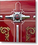 1948 American Lefrance Fire Truck Emblem Metal Print