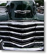 1948 Chevy Coupe Grille Metal Print