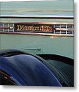 1948 Diamond T Truck Emblem 2 Metal Print
