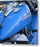 1948 Indian Chief Motorcycle Metal Print