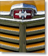 1948 International Hood Emblem 2 Metal Print