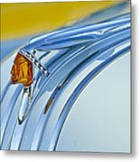 1948 Pontiac Hood Ornament 2 Metal Print