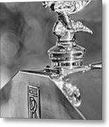 1948 Rolls-royce Hood Ornament 2 Metal Print