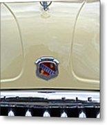 1949 Buick Super 8 Grill  Metal Print
