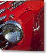 1949 Diamond T Truck Emblem Metal Print