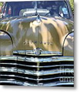 1949 Plymouth Delux Sedan . 5d16205 Metal Print by Wingsdomain Art and Photography