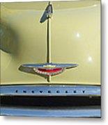 1950 Chevrolet Fleetline Grille 2 Metal Print