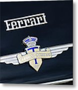 1950 Ferrari Carrozz Touring Milano Emblem Metal Print