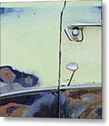 1950 Ford Crestliner Door Handle Metal Print