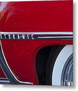 1950 Oldsmobile Rocket 88 Wheel Metal Print