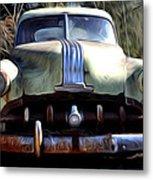 1950 Pontiac  Metal Print