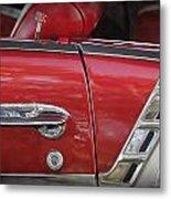 1950s Chevrolet Belair Chevy Antique Vintage Car 3 Metal Print
