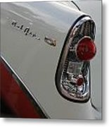 1950s Chevrolet Belair Chevy Antique Vintage Car Metal Print
