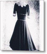 1950s Dress Metal Print by David Ridley