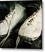 1950's Roller Skates Metal Print by Michelle Calkins