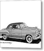 1951 Chevrolet Coupe Metal Print
