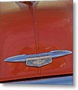 1951 Chevrolet Sedan Delivery Hood Ornament Metal Print