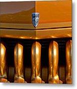 1951 Mercury Hot Rod Grille Metal Print