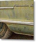 1951 Nash Ambassador Side Logo Metal Print