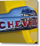 1952 Chevrolet Hood Emblem Metal Print
