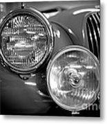 1952 Jaguar Headlights Metal Print