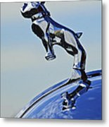 1952 L Model Mack Pumper Fire Engine Hood Ornament Metal Print